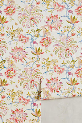Anthropologie Favorites:: Anthropologie Wallpaper Favorites