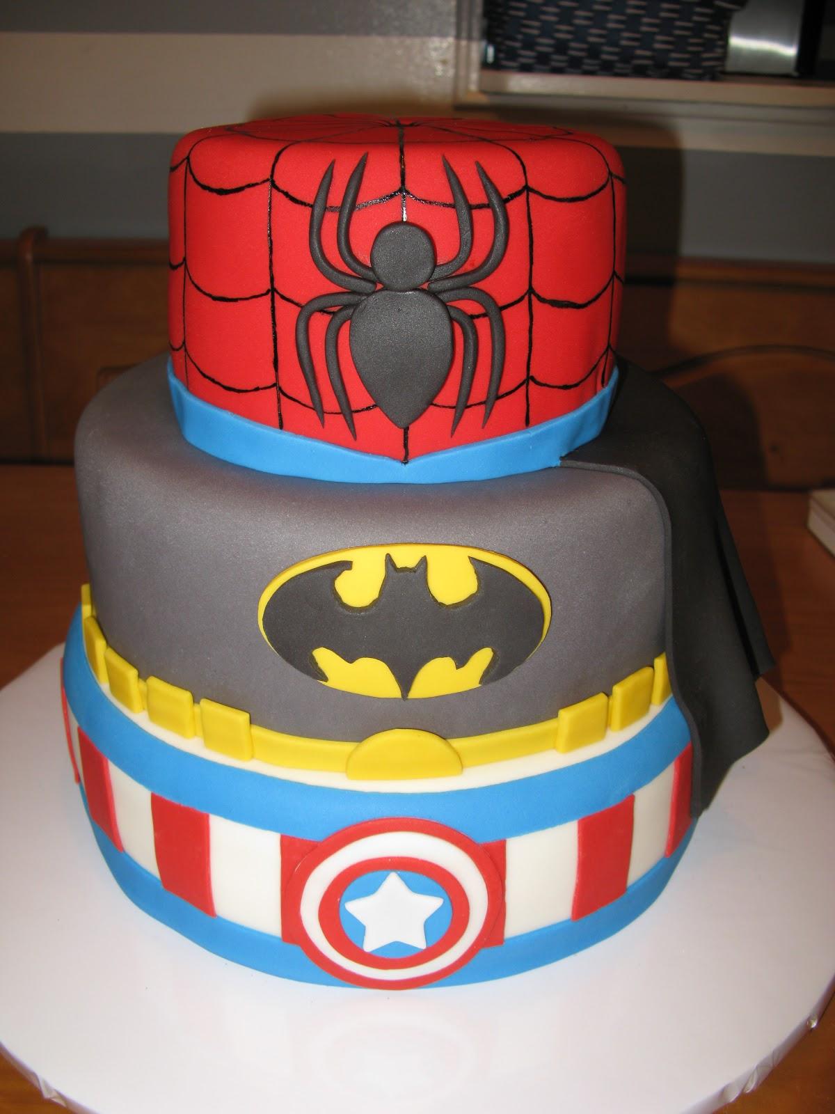 Cakes by Kristen H.: Superhero Cake!  |Superhero Cakes