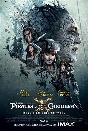 Pirates of the Caribbean Dead Men Tell No Tales 2017 English HDCAM x264 700MB