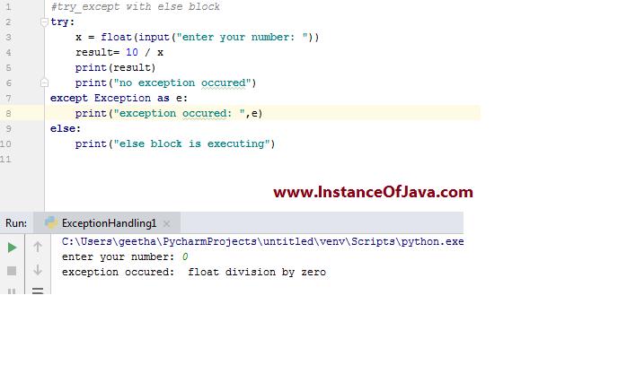 python else example program