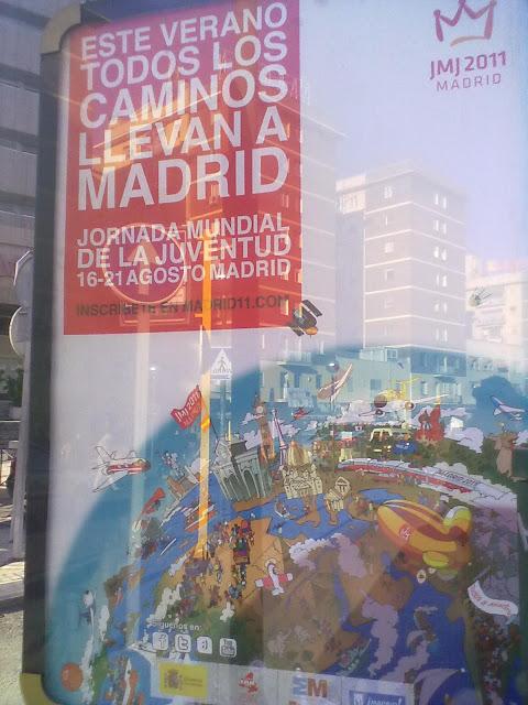 Programación de la Jornada Mundial de la Juventud en Madrid. JMJ 2011.