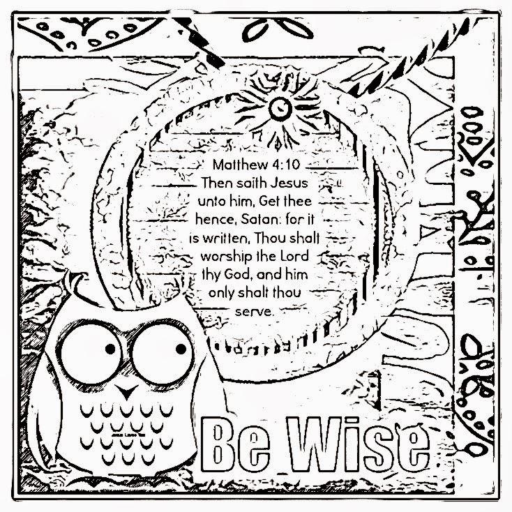 Children's Gems In My Treasure Box: Wisdom Coloring Sheets 3