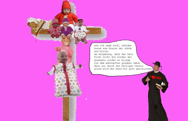 Kris Kind 2011, Gekreuzigte Kinder, Digital Preview
