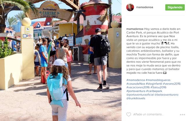 mochila paddlepack trunki el bebe aventurero blog mama de noa