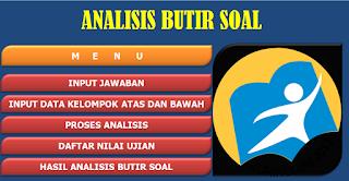 Analisis Soal Kurikulum 2013 Dengan Aplikasi Excel Untuk SD/SDLB,SMP/MTs, SMA/MA dan SMK