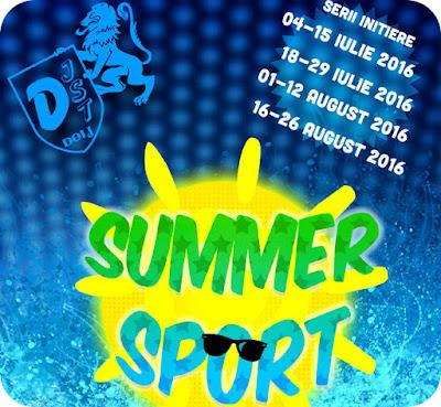 Summer Sport - initiere in 7 sporturi