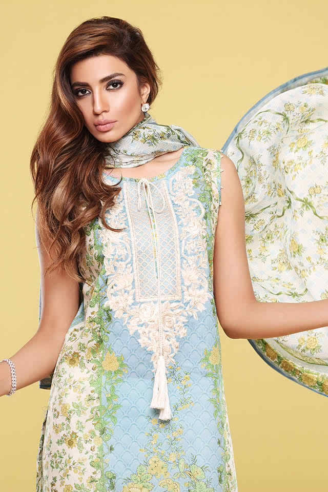 Sappiere Summer Lawn Collection 2016