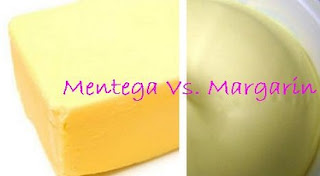 perbedaan mentega dengan margarin,dan butter,bedanya margarin dan mentega,