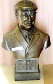 Busto del poeta Pablo Neruda