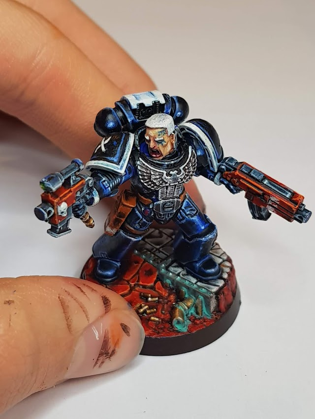 What's On Your Table: Space Marine Character Series II