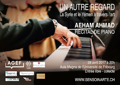 Senso in arte - Concerto piano aheam ahmad