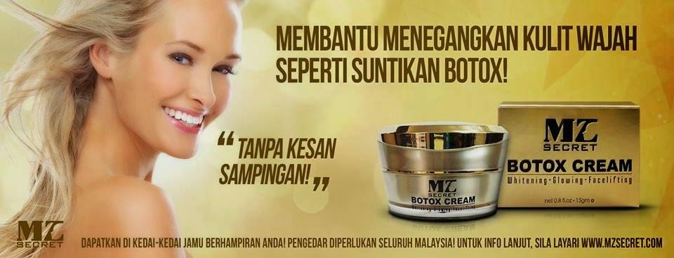 botox cream mz