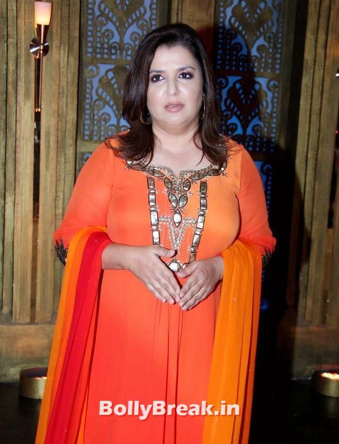 Farah Khan, Sonam Kapoor in Amazing Dress - Pics from EKLKBK