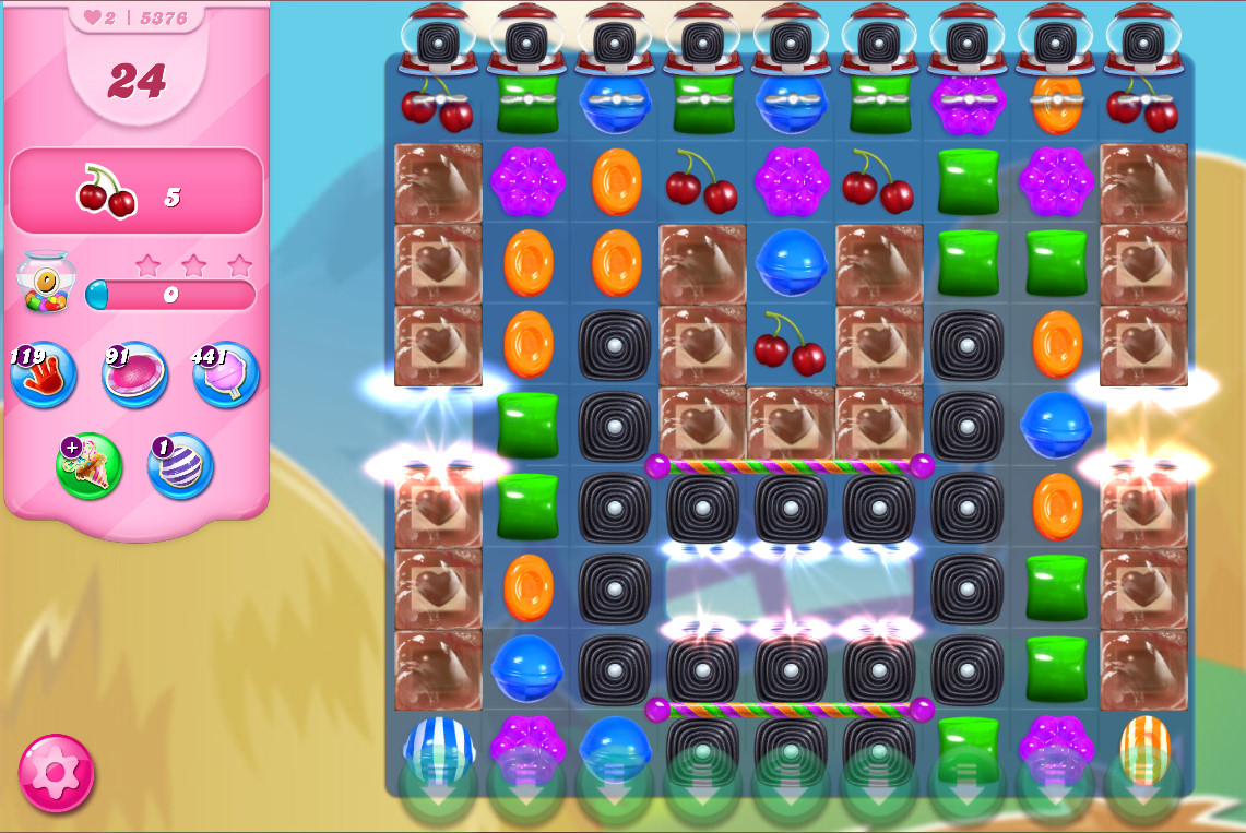 Candy Crush Saga level 5376