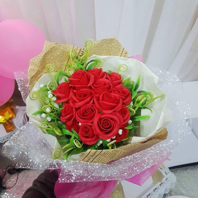 Hoa hong sap thom vinh cuu tai Le Truc
