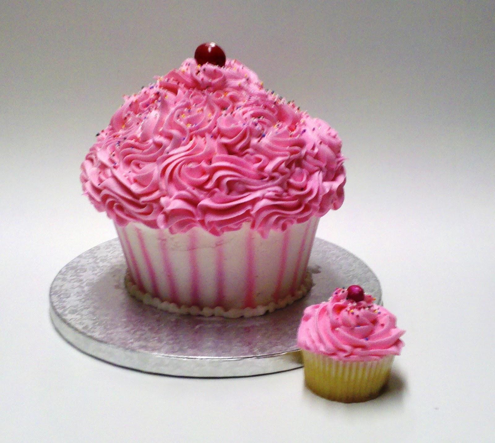 Cupcake Shaped Cake