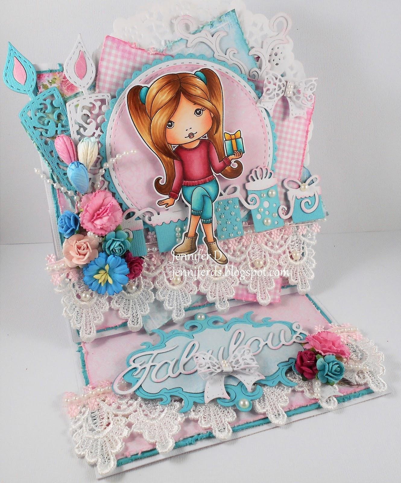 JenniferD's Blog: Birthday Gift Molli