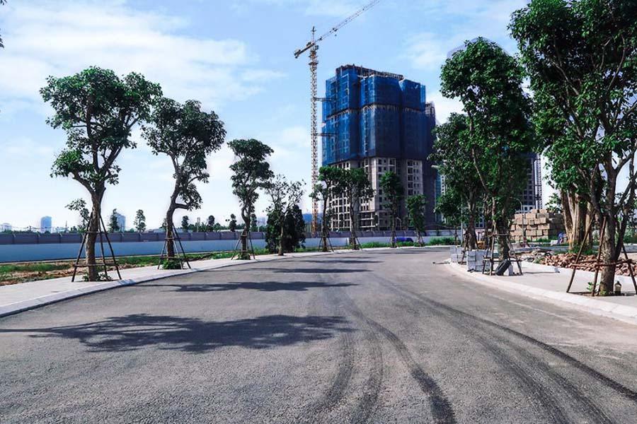 Tiến độ thi công dự án Sunshine City Ciputra tháng 7/2017