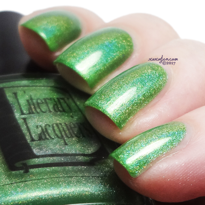 xoxoJen's swatch of Literary Lacquers Green Gables