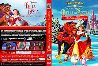 CARATULALA BELLA Y LA BESTIA UNA NAVIDAD ENCANTAD - 1997