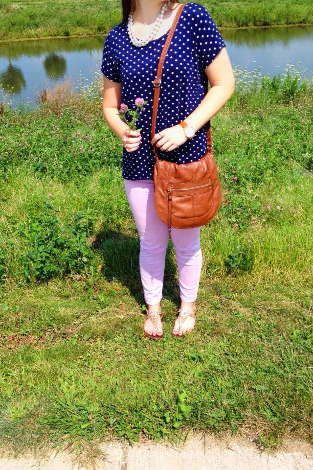 Polka Dots by the Pond