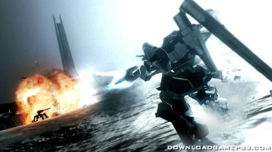 Armored core for answer parts
