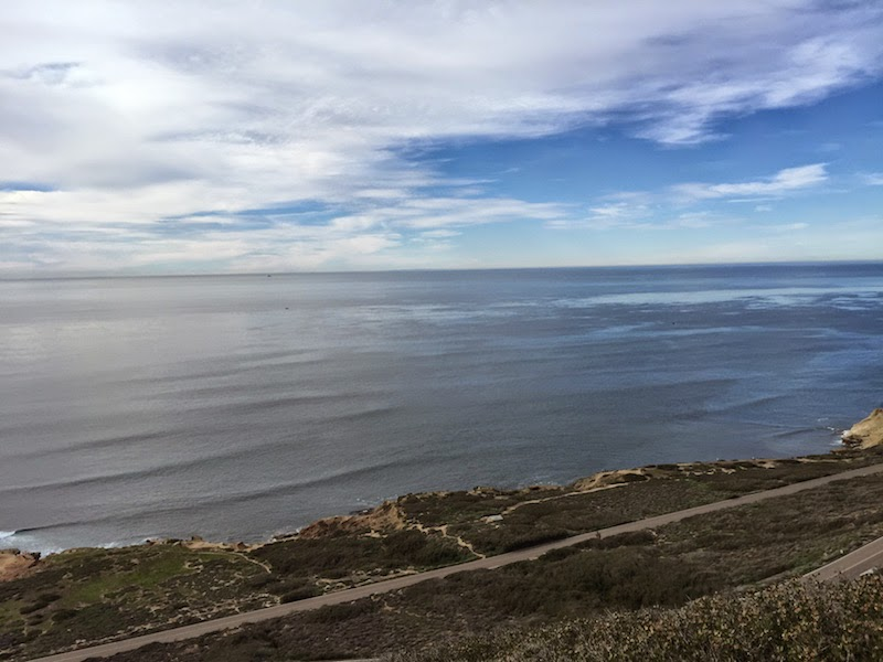 Pacific Ocean as seen from Point Loma