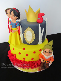 cake snow white and the seven dwarfs