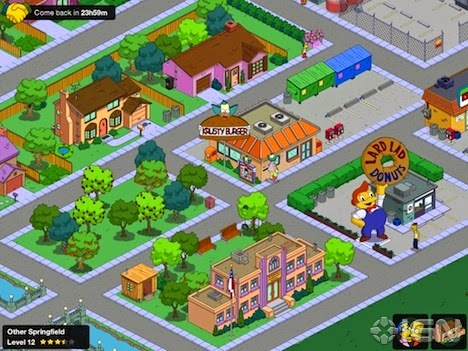 Free download the simpsons tapped out 4.11.2. mod apk ...