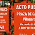 📣 ACTO PÚBLICO PSOE 18h 21jun'16