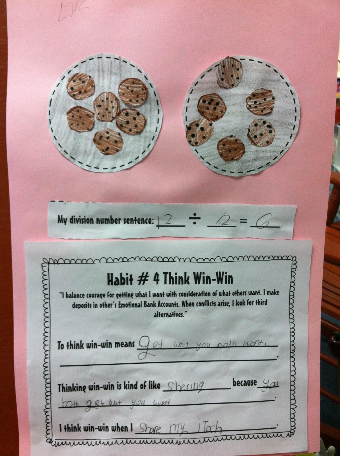 Teachin Little Texans Division Flip Book And 7 Habits