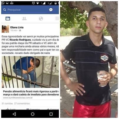 """TAL PATRÃO, TAL EMPREGADO: """"Além de pagar MIXARIA, ainda atrasa pensão alimentícia"""". Diz mãe caxiense indignada com o Apresentador Ricardo Rodrigues"""