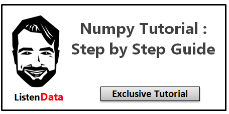 NumPy Tutorial with Exercises