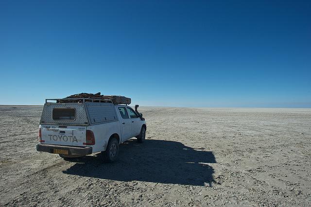 Makgadikgadi Pans,Botswana