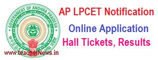 AP LPCET 2018 Notification -  AP Language Pandit Training Online Apply @ lpcetap.cgg.gov.in