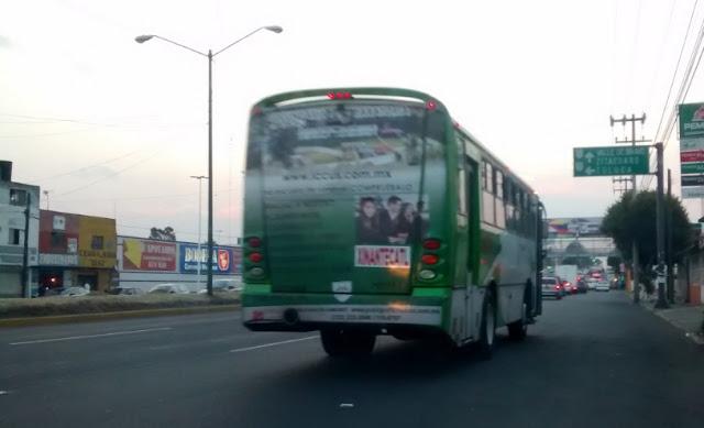 Pasajeros en Toluca