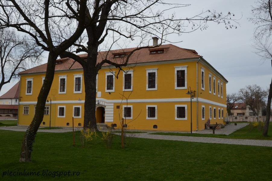 In cetatea medievala Targu Mures