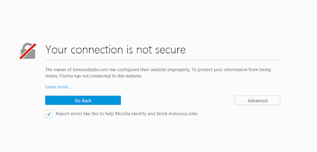"Cara Mengatasi ""Your Connection is Not Secure"" Terbaru"