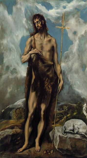 Saint John  El Greco