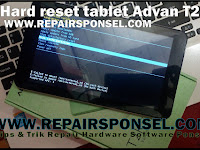 Hard Reset Tablet Advan T2K (tested) Succes