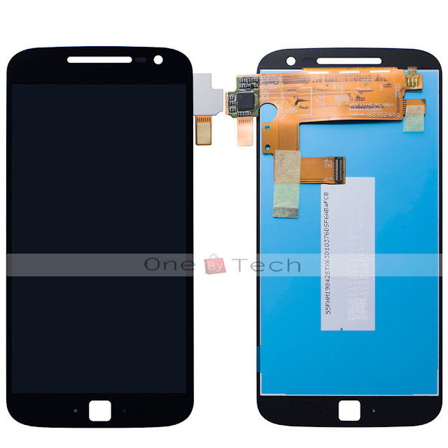 Here are Moto G4 and G4 Plus Front panel