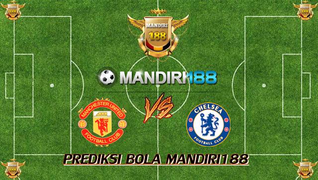 AGEN BOLA - Prediksi Manchester United vs Chelsea 25 Februari 2018