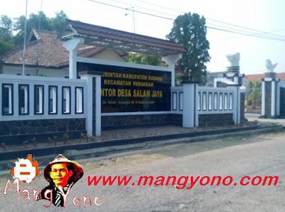 Kantor Desa Salam Jaya, Kecamatan Pabuaran, Kab. Subang.