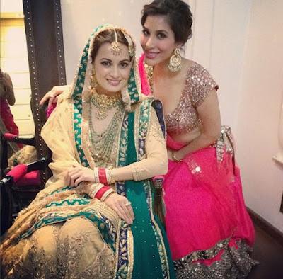 Sophie-Choudhary-at-Dia-Mirza-Sahil-Sangha-Wedding