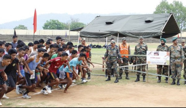 Jaunpur  Army Rally, Indian Army Rally, Open Bharti Rally