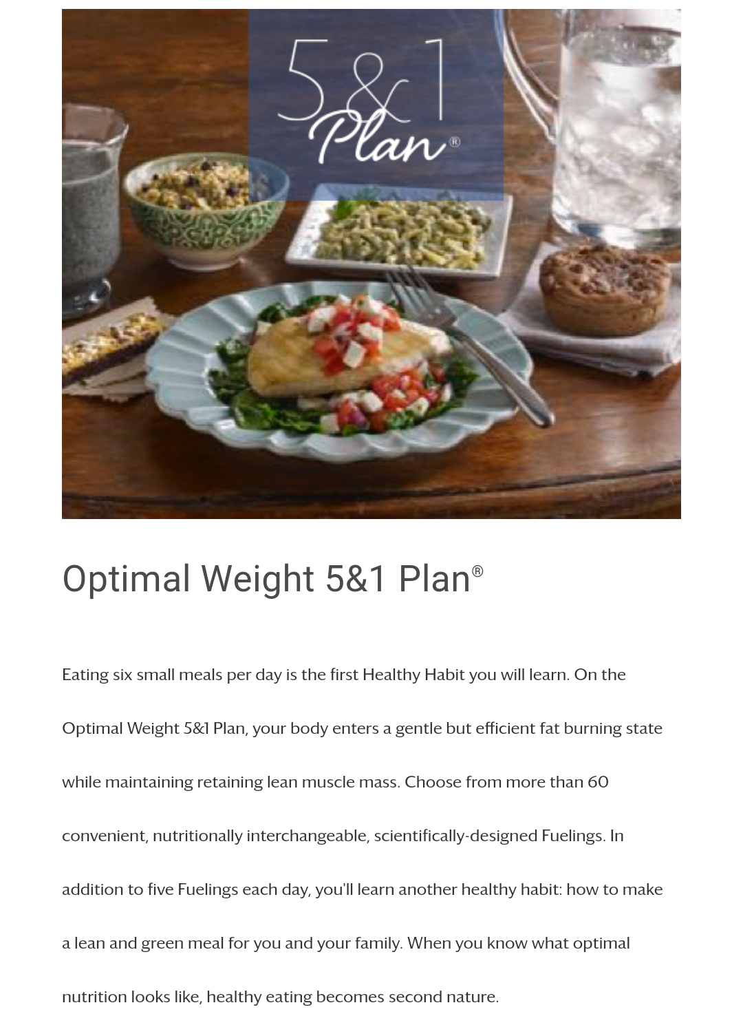 optimal 5&1 weight loss