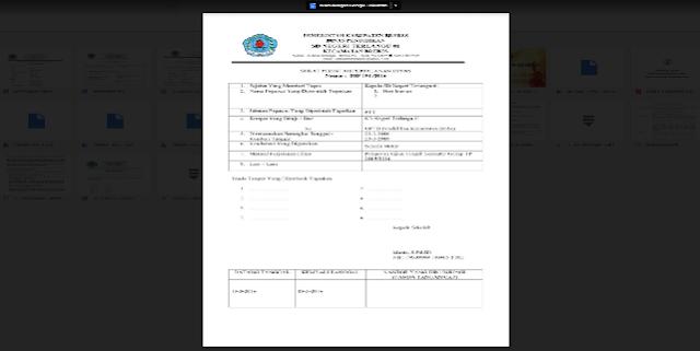 Download Contoh Terbaru Surat Perintah Perjalanan Dinas (SPPD)