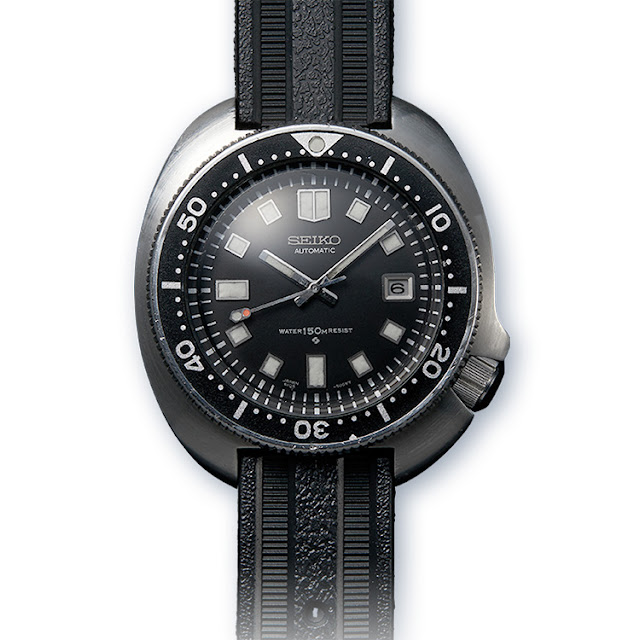 The Seiko diver's watch worn by the Japanese adventurer, Naomi Uemura, in 1970