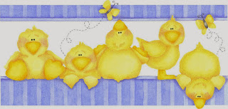 Free Printable image of Ducks and Sheep for Babies.