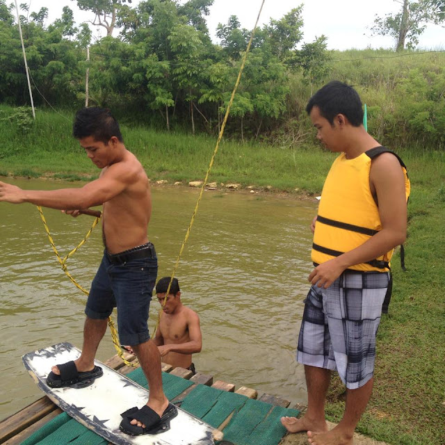 Wakeboarding lessons at Danasan Eco Adventure Park